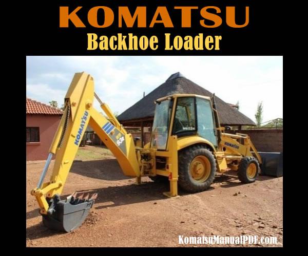 Komatsu Backhoe Loader WB93R-5E0 Service Manual PDF