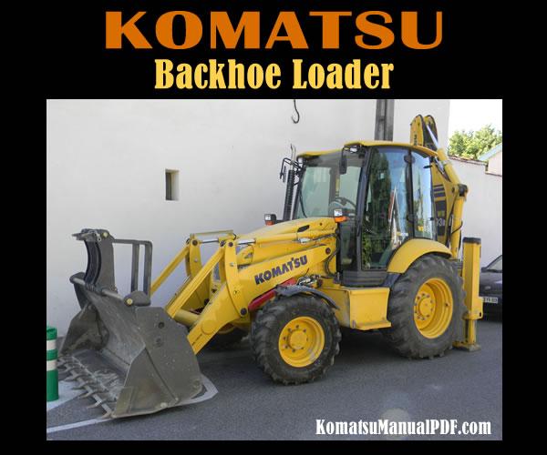 Komatsu Backhoe Loader WB93R-5 Service Manual PDF