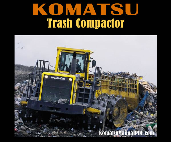 Komatsu Trash Compactor WF550-3 WF550T-3 Service Manual PDF