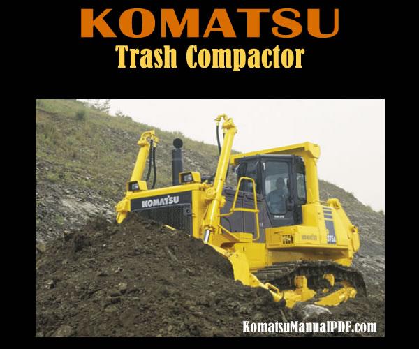 Komatsu Trash Compactor WF550A-3 Service Manual PDF